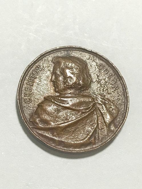 medalla recuerdo del CENTENARIO DE 1892 COLON.