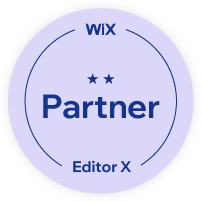 WIX-Partner Logo für we-website