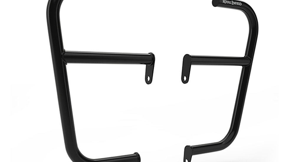 ROYAL ENFIELD LARGE ENGINE GUARD (BLACK)