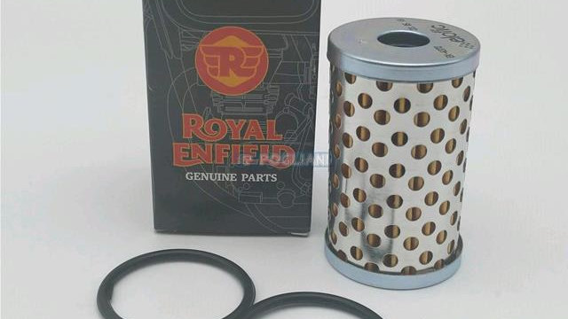 ROYAL ENFIELD OIL FILTER WITH O RING KIT