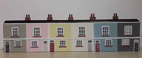 Row of six Seaside Cottages