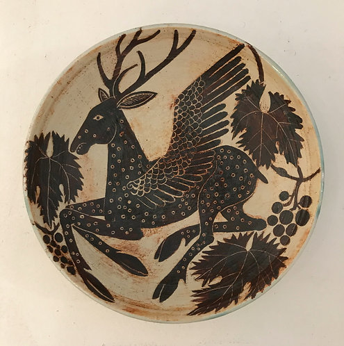 Winged Stag Bowl