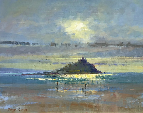 Two Walkers, Marazion