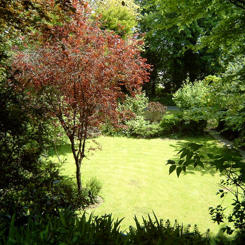 View Down to the Lower Garden