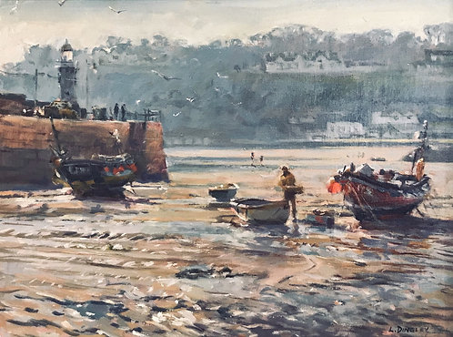 Low Tide, St Ives Harbour