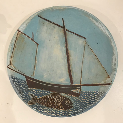 Lugger and Fish Plate