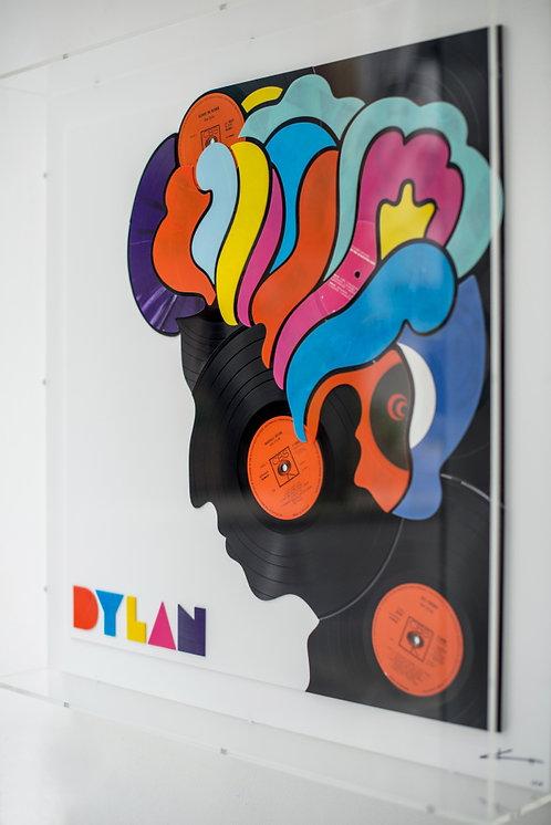 Dylan a la Milton Glaser