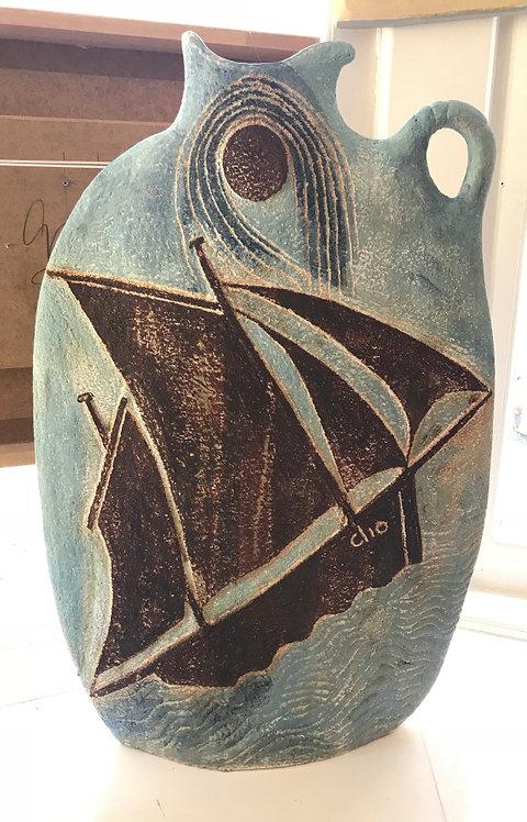 Lugger Slab Vase