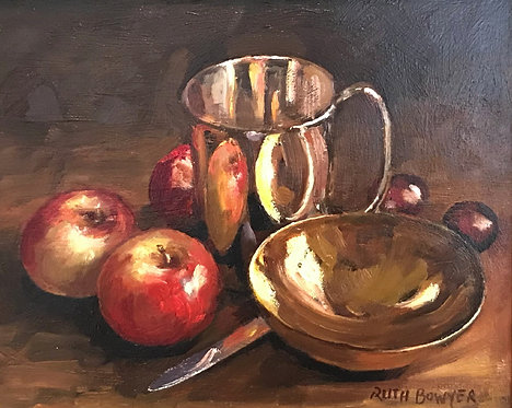 Two Apples and a Brass Ladle