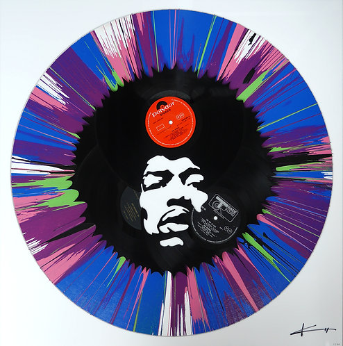 Jimi In A Spin
