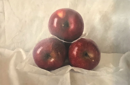 Triptych of Plums