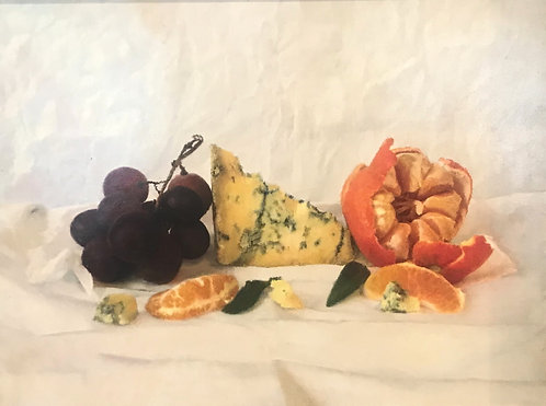 Stilton, Grapes and Clemantine