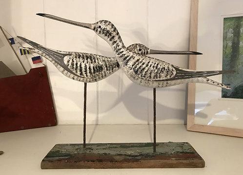 Pair of Shore Birds