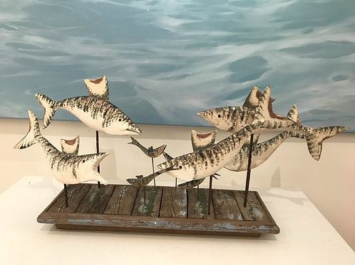 Five Fish and Fry on Driftwood
