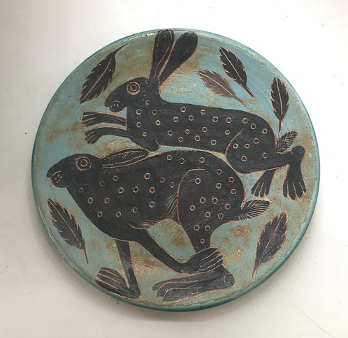 Runnning Hares Plate