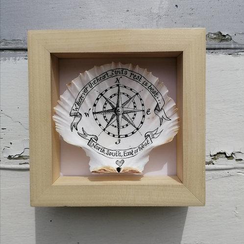 Nautical Compass Shell
