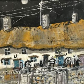 Original paintings by Roy Davey pieces by the artist Roy Davey available at Waterside Gallery St Ives an affordable art gallery in St Ives Cornwall
