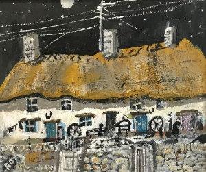 Starry Sky, Cornish Farmhouse