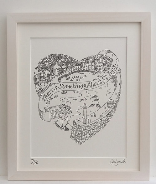 St Ives Harbour Heart