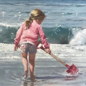 Original paintings by Nicholas St John Rosse pieces by the artist Nicholas St John Rosse available at Waterside Gallery St Ives an affordable art gallery in St Ives Cornwall