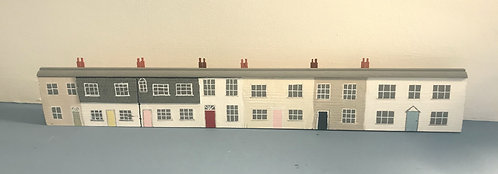 Row of Cornish Cottages