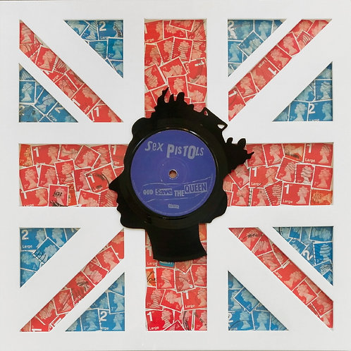 """God Save The Queen 7"""" - Last Post Union Jack"""