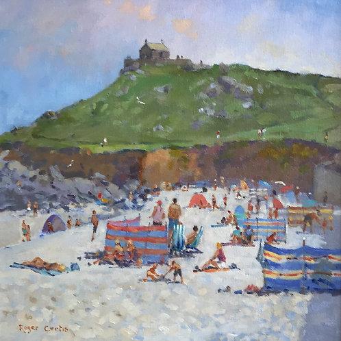 On Porthmeor Beach