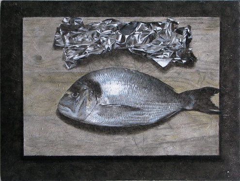 Sea Bream and Tin Foil