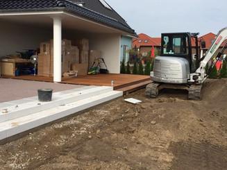 Terrassenbau Gartenlandschaftsbau
