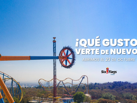Six Flags vuelve a abrir sus puertas