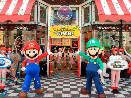 ¡Se abre una cafetería inspirada en el mundo de Mario Bros!