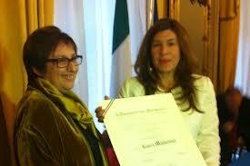 consegna attestato Cavaliere Al merito della Repubblica Italiana