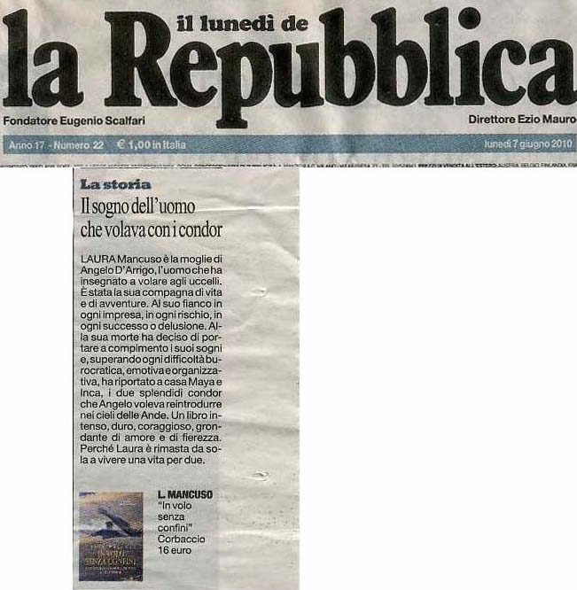 La Repubblica 7 luglio 2010