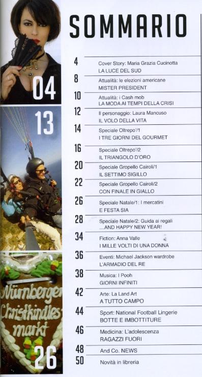 ANDCO magazine sommario nov 2012 2