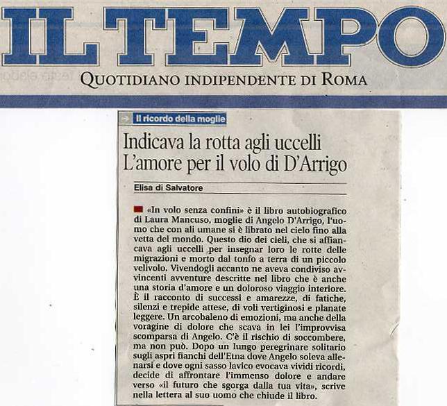 Il Tempo 6 marzo 2010 articolo copia