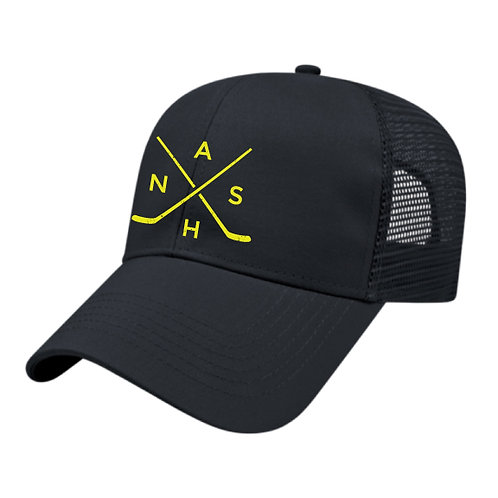 Nash Hockey Trucker Hat - All Navy