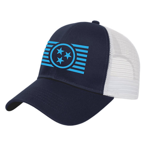 TriStar & Stripes - Blue