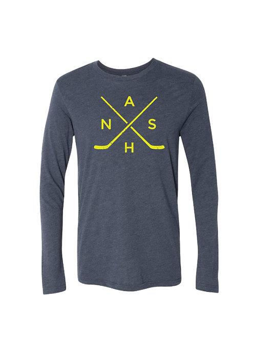 Nash Hockey Long Sleeve Tee