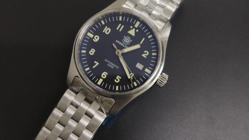 "STEELDIVE SD1940 ""Pilot Mark Xviii"" Automatic 200m Diver Watch"