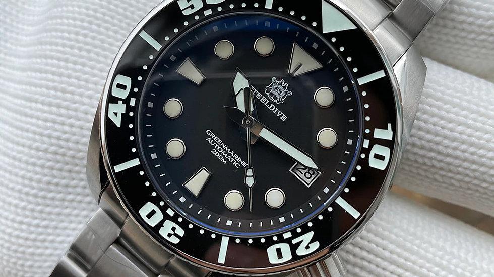 "STEELDIVE SD1971 ""Sumo"" Automatic 200m Diver Watch"