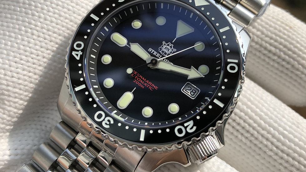"STEELDIVE SD1996AC ""SKX 007"" Automatic 200m Diver Watch"