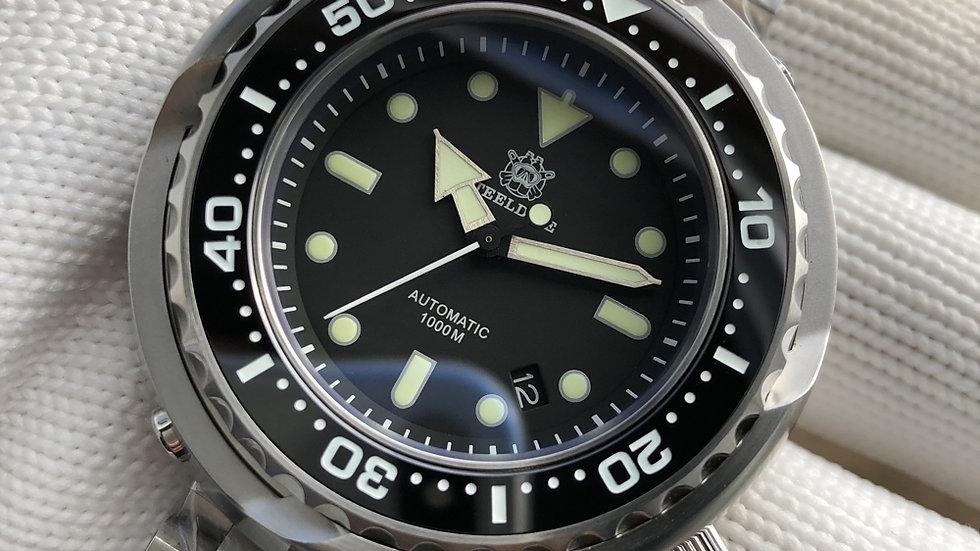 """STEELDIVE SD1978""""Emperor Tuna"""" 52mm Automatic 1000m Diver Watch"""