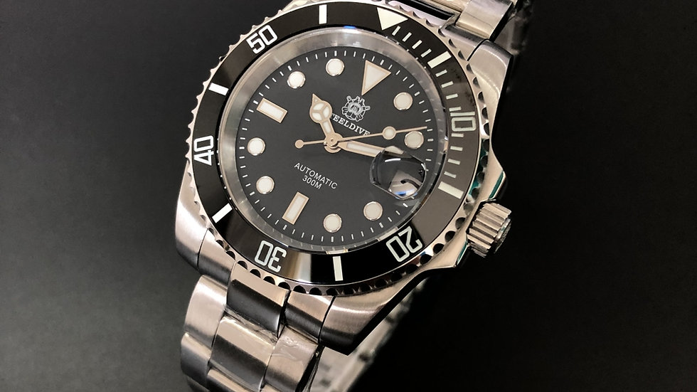 "STEELDIVE SD1953 ""Submariner"" Automatic 200m Diver Watch"