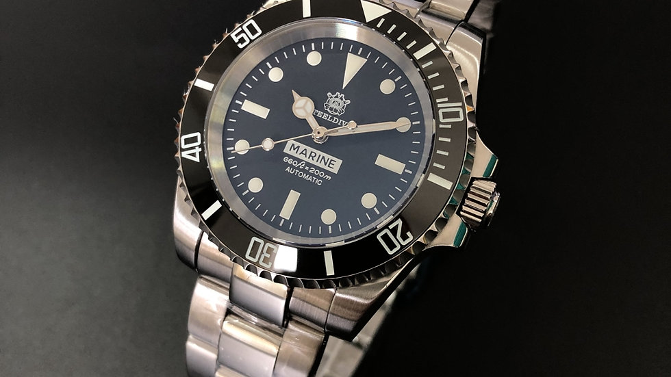 "STEELDIVE SD1954M ""Submariner"" Automatic 200m Diver Watch"
