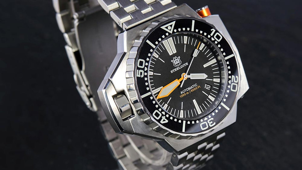 "STEELDIVE SD1969 ""ProPlof"" Automatic 1200m Diver Watch"