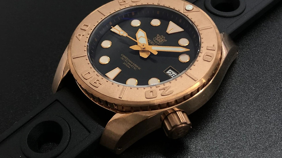 "STEELDIVE SD1971S ""Bronze Sumo"" Automatic 200m Diver Watch"