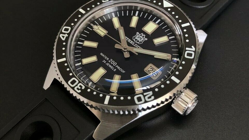 "STEELDIVE SD1962 ""62MAS"" Automatic 200m Diver Watch"