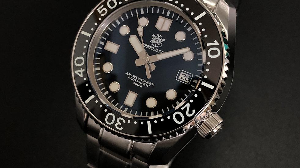 """STEELDIVE SD1968 """"MM 300 Monobloc"""" 300m Automatic Diver Wat"""