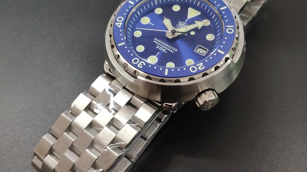 "STEELDIVE SD1975 ""Blue Tuna"" Automatic 300m Diver Watch"