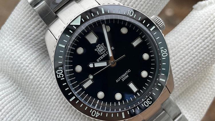 "STEELDIVE SD1965 ""Oris 65"" Automatic 200m Diver Watch"